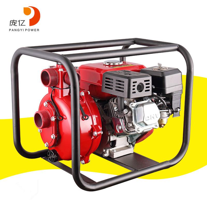PANGYI Gasoline Engine Water Pump Gasoline Fire Pump High-lift Water Pump Self-priming Pump Agricult