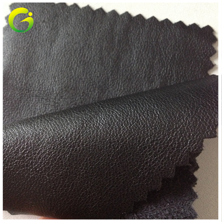 GUOJIN Imitation leather sheepskin pattern PU leather, environmental protection clothing leather fab