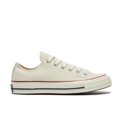 CONVERSE giày vải Converse chính thức những năm 1970 màu be low-cut của Samsung Giày vải cổ điển tiê