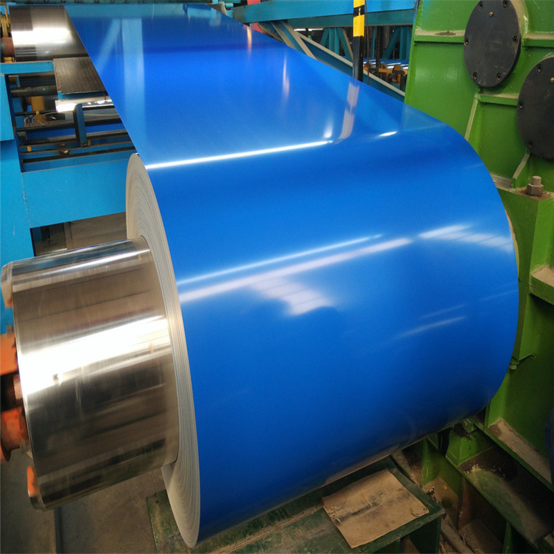 Sea blue color steel coil 840 watts, printing and coating, grass printing