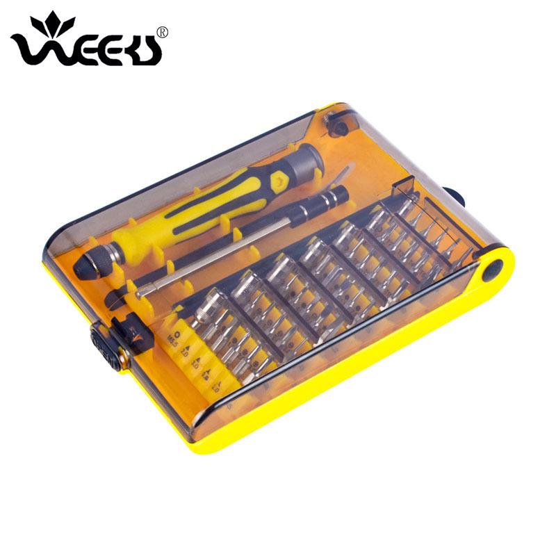 WEEKS 45-in-1 46-in-1 telecommunications watch repair tool set, multi-purpose screwdriver, screwdriv