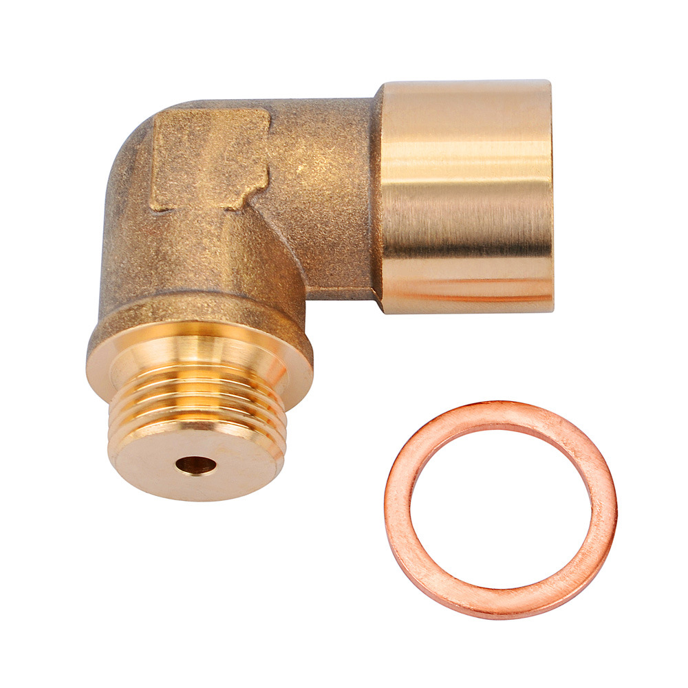 M18 X1.5 oxygen Lambda extended venting space sensor 90 degree oxygen sensor LambdaO2 spacing