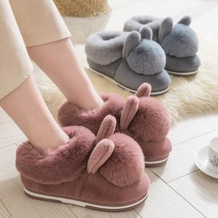 Giày GuangDong Dép bông Quảng Đông Thâm Quyến túi mùa đông của phụ nữ với đế dày chống trượt tháng g