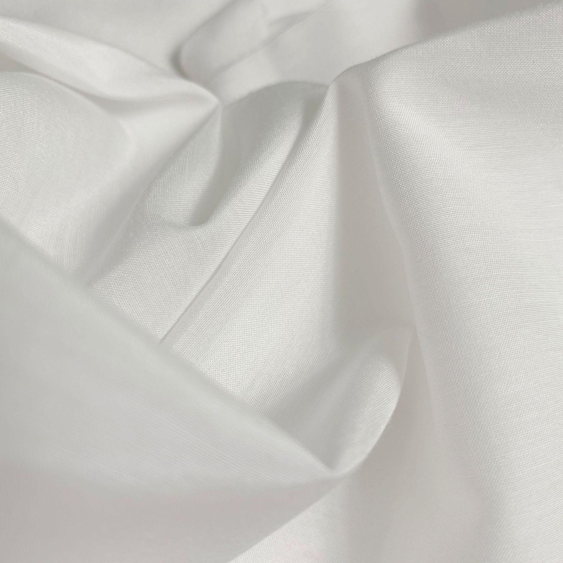 30% silk 70% cotton silk cotton blended white grey cloth custom fabric 12 mum 140 width printed clot