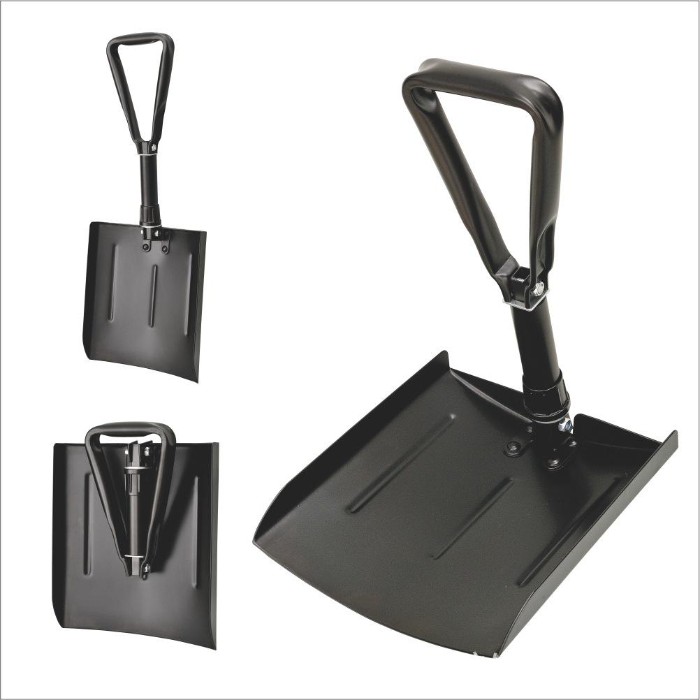 MINGHUI Iron handle spray plastic foldable snow shovel with cloth bag snow shovel snow removal tool