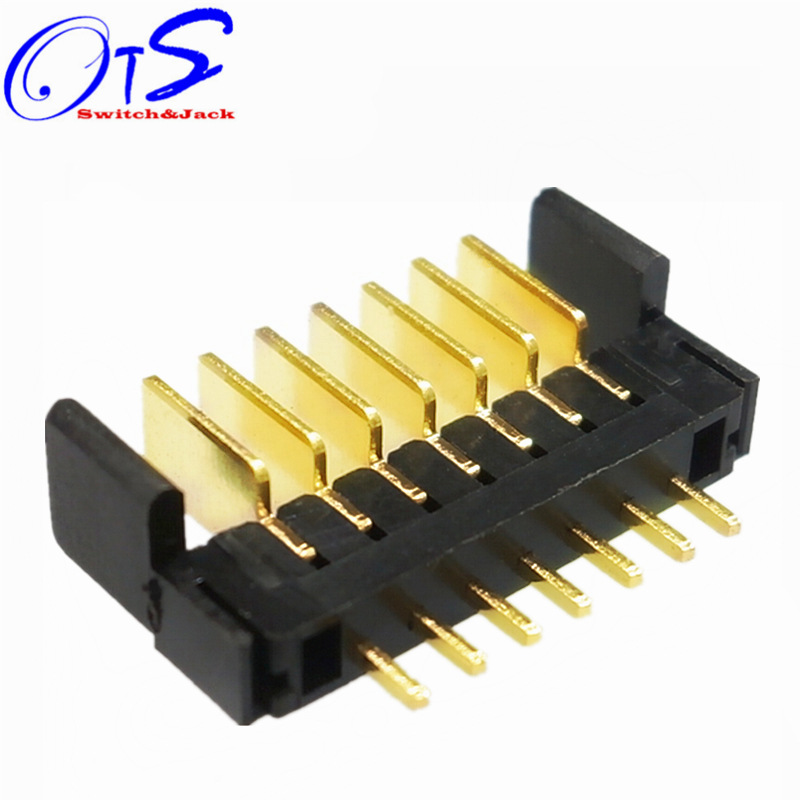 OTS In-line high temperature resistant battery connector with harpoon 2.0 pitch 3~12P high current g
