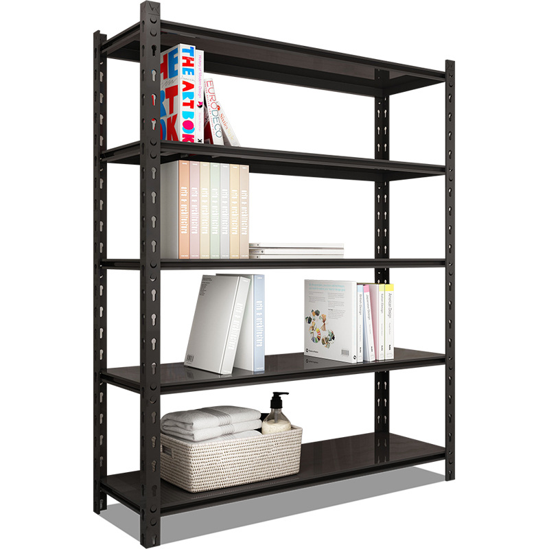 Gourd shelf black household warehouse storage shelf balcony display iron shelf shelf multi-layer fre