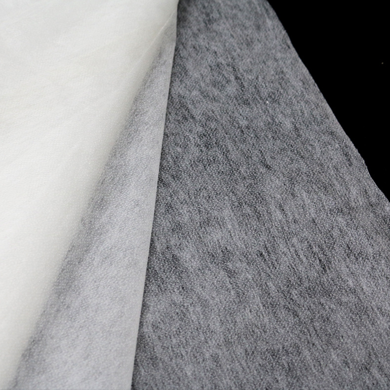 Garment double-point non-woven interlining, pulp-point interlining, washing interlining, nylon inter
