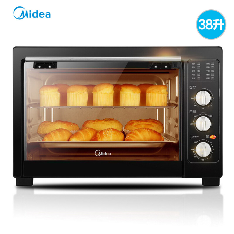 Midea MG38CB-AA Baking Machine Multifunctional Automatic 38L Large Capacity Household Electric Oven