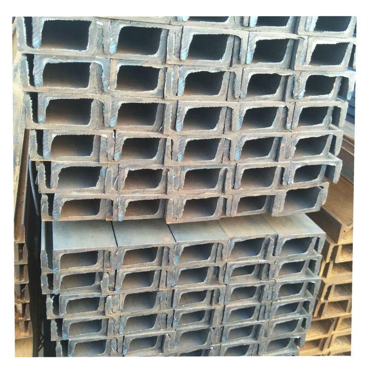 Hot-rolled channel steel Q235B construction bridge cutting square steel national standard 345 hot-di
