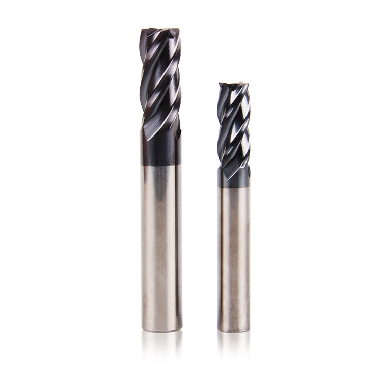 SONGQI Matsuzaki Tungsten Steel Milling Cutter Carbide End Milling Cutter Lengthened Aluminum Flat E