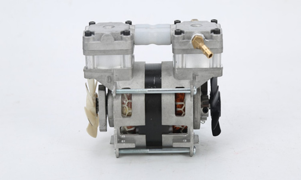 BEISITE BST80AF-BS air compressor for oxygen generator, miniature oil-free compressor plug-in piston