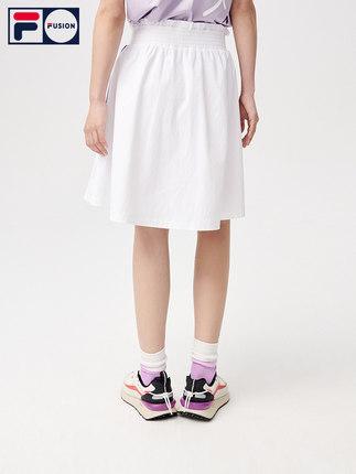 FILA váy   FUSION Kōki thương hiệu thời trang, ngôi sao cùng kiểu váy nữ váy chữ A mùa hè 2021