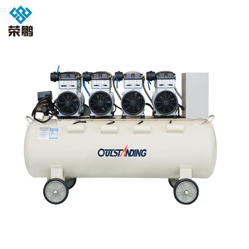 AOTUSI Oil-free silent air compressor for auto repair air compressor, portable air pump for woodwork