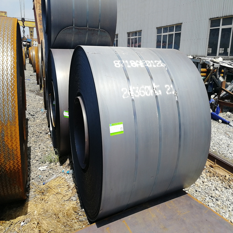 Q345B hot-rolled coil 2mm/3mm/5mm hot-rolled sheet Open flat hot coil for machinery manufacturing