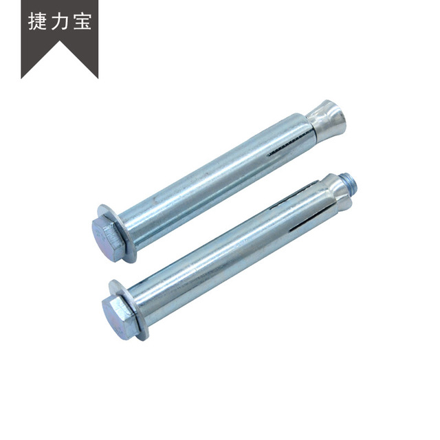 Galvanized Expansion Bolt High-strength Hexagonal Expansion Screw Expansion Tube National Standard T