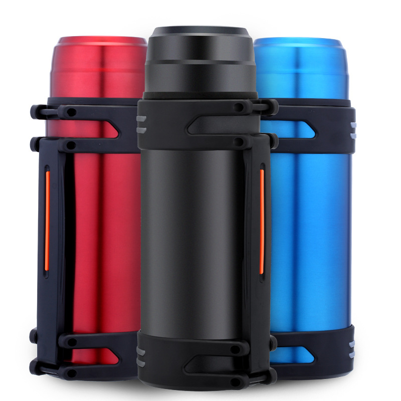 OSINMA 2.0L large capacity outdoor sports bottle 304 stainless steel travel pot household portable t