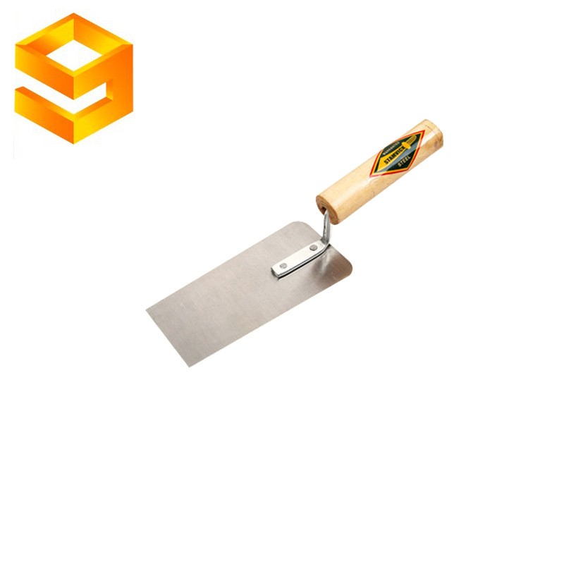 Craftsman tool bricklaying knife wooden handle thick plaster putty knife stainless steel trowel knif