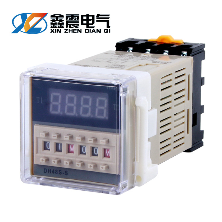CHKL DH48S-S digital display time relay 12 cycles 1Z single group -2Z two-way delay switch