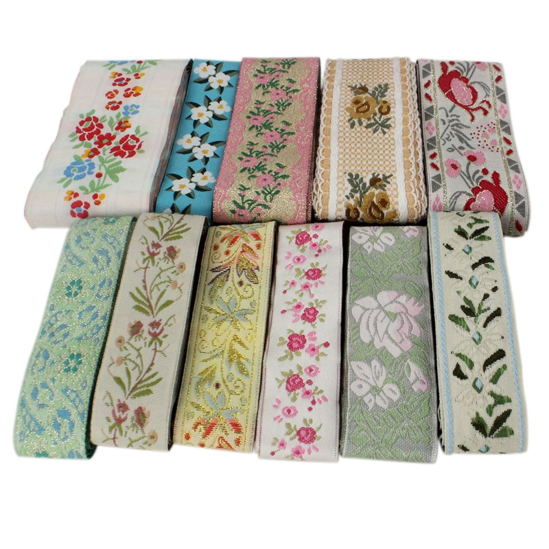 DONGCAI Ethnic small fresh lace accessories, DIY curtain fabrics, clothing, hats, decorative ribbons