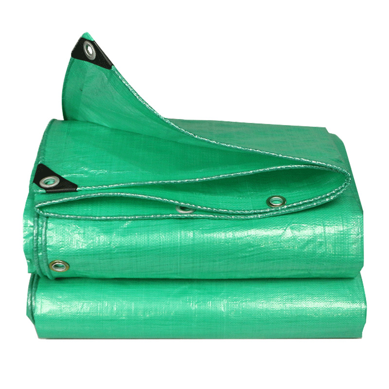 CHUANGFAN Color striped cloth rainproof plastic tarpaulin tarpaulin waterproof truck pe rain cover t