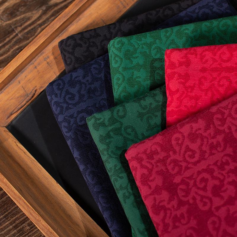 ZHONGLIAN Classical jacquard fabric Women's cheongsam Hanfu dress apparel fabric Cotton viscose yar