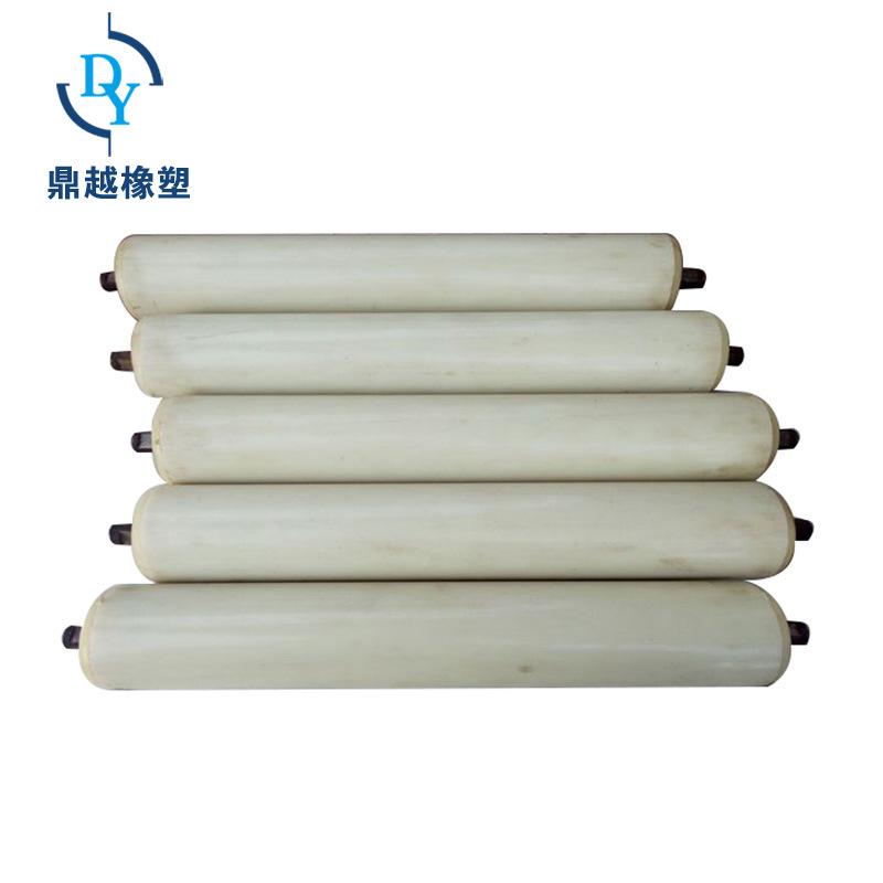 DINGYUE Nylon roller Conveyor belt conveyor roller Polymer roller Trough triple series roller
