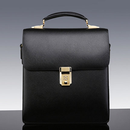 Túi xách nam cao cấp chất liệu da bò phong cách công sở .