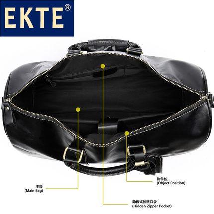 Túi xách du lịch chất liệu Da cao cấp dung tích chứa lớn dành cho nam .