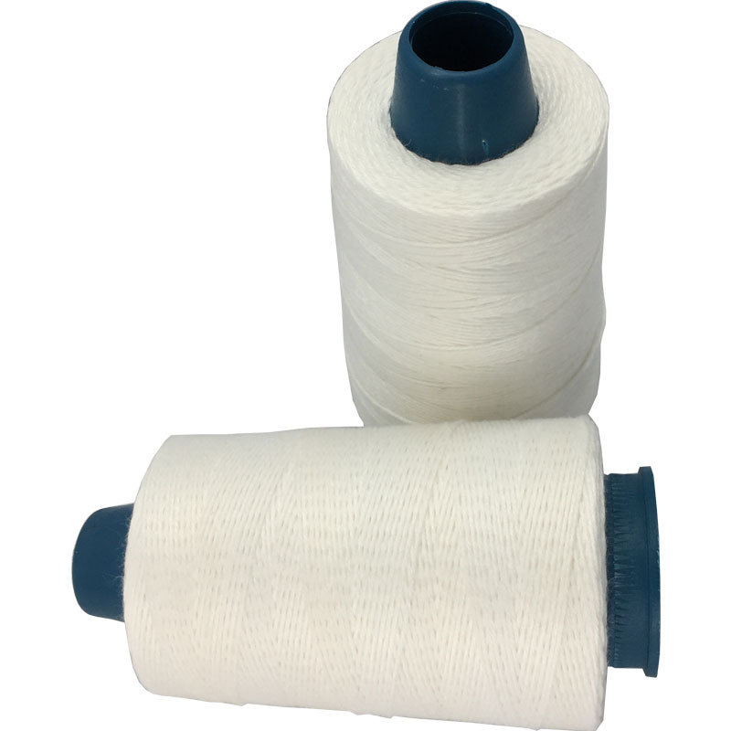 ZHILI Woven bag sewing thread, pure large chemical fiber white sealing thread, strong tension sealin