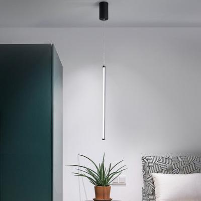 NIGUANG Đèn treo trần Bắc Âu nhà hàng Đan Mạch đèn chùm phòng ngủ đầu giường đèn chùm nhỏ đơn đầu sá