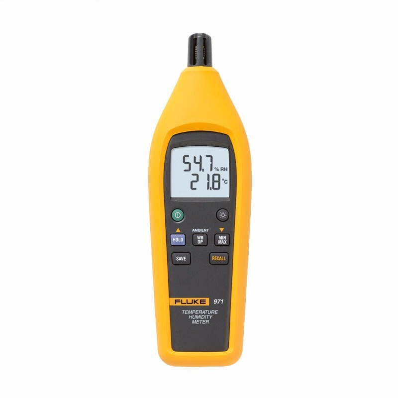 FLUKE/ Fluke temperature and humidity table temperature and humidity table F971 test instrumentation