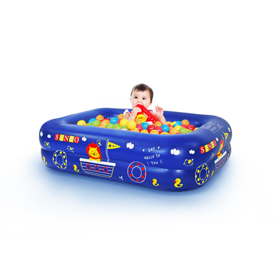 Swimming pool inflatable swimming pool baby adult home paddling pool thickened ocean ball children'