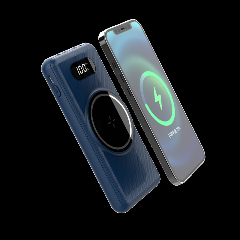 15W magnetic wireless charging fast charging 22.5w power bank suitable for Apple Huawei