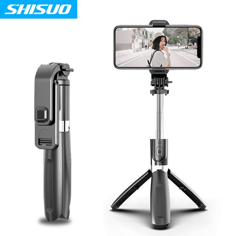 SHISUO New bluetooth selfie stick, mobile phone universal multi-function live broadcast stand, porta