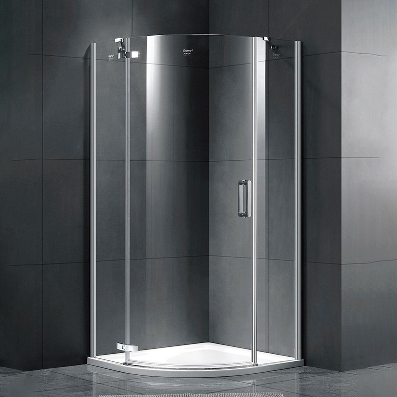 Hotel project integrated shower room partition whole bathroom dry and wet separation bathroom enclos