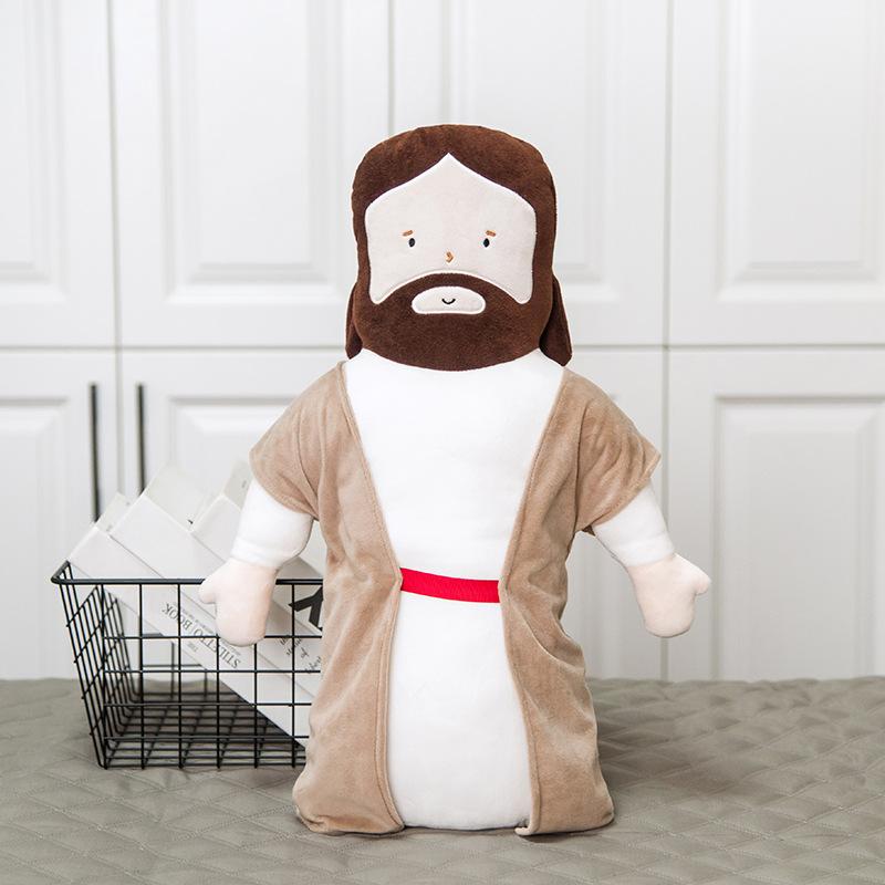 NOOER Jesus pillow plush toy