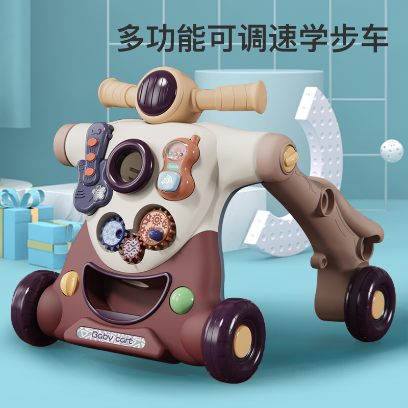 Multifunctional baby walker stroller with water tank baby walker 0-1 year old baby toy