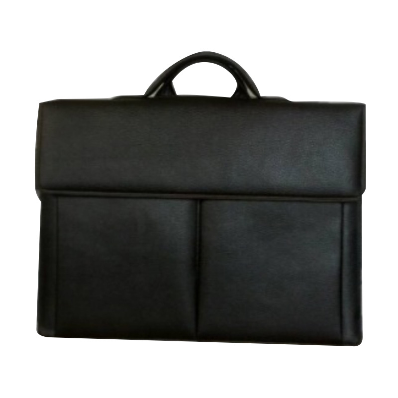 Bulletproof briefcase men's business handbag leather cowhide high-end department system two-level b