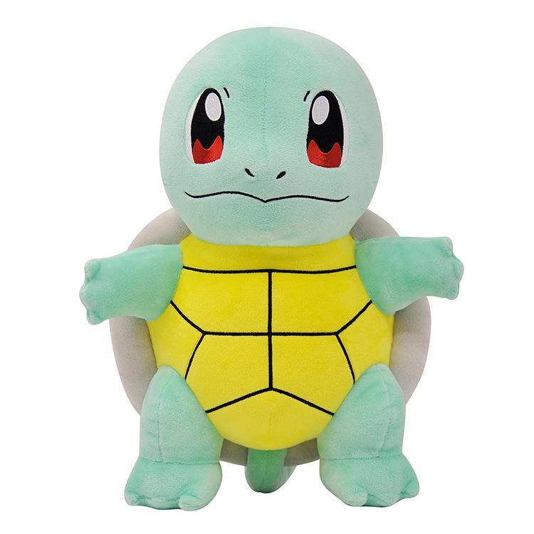 Genuine Pikachu Plush Toy Doll Elf Pokémon Small Girl Ragdoll Toy Geng Ghost Jenny Turtle