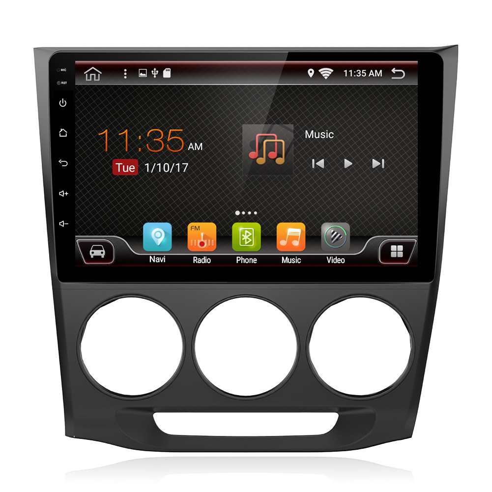 Android PX6 is suitable for Honda Lingpai 2013 manual air conditioner 10.1-inch large-screen navigat