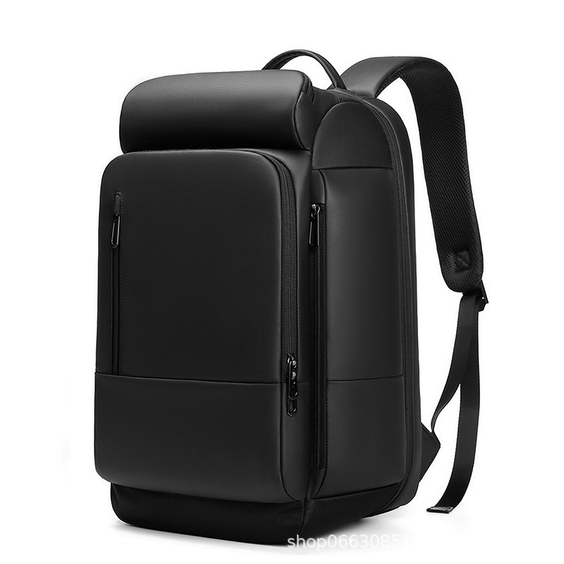 Ouge PVC business men's backpack for business trips, water-repellent large-capacity computer backpa