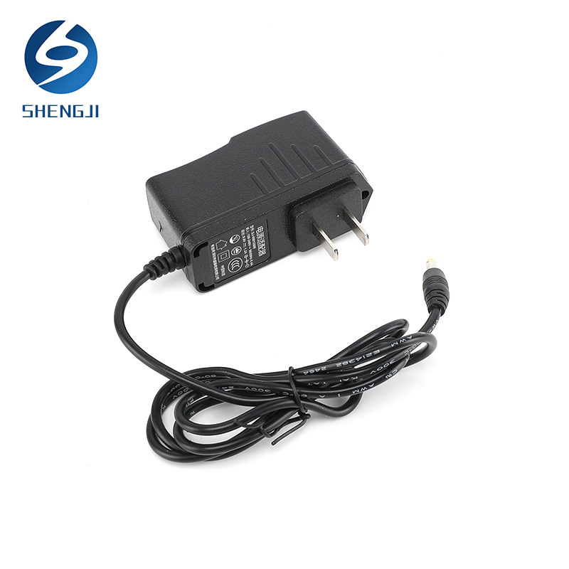 13.5W power adapter 12V1A with line DC plug-in wall power adapter charger