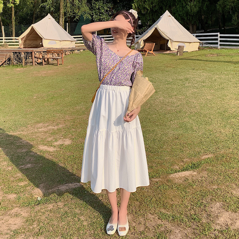 2021 new arrival two-color skirt