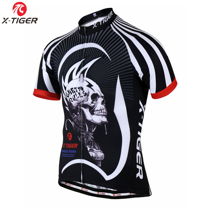 x-tiger cycling clothes summer cycling jacket bicycle outdoor breathable sweat-absorbent short jacke