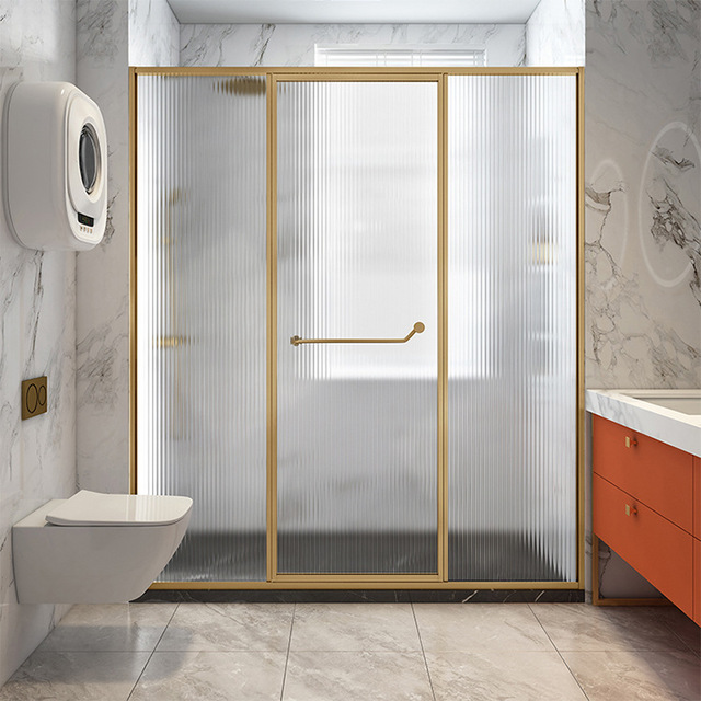YISHANGJIE 304 stainless steel all-inclusive frame shower room hotel engineering bathroom glass part