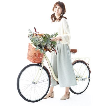 xe đạp Cửa hàng hàng đầu chính thức Phoenix Xe đạp nữ 24 inch 26 xe tay ga nhẹ nam để đi làm sinh vi