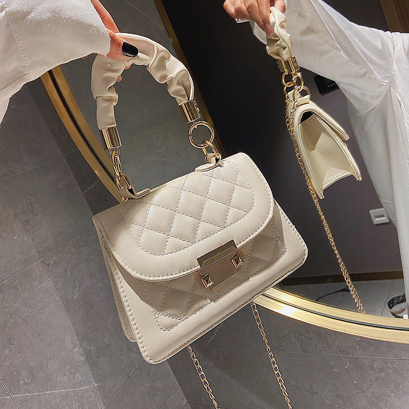 New texture popular small bag female 2020 summer new trendy fashion net celebrity portable all-match
