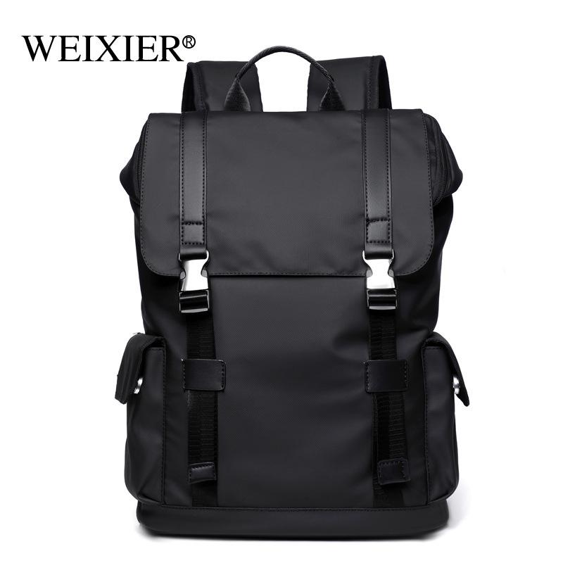 Backpack Men Backpack High School Junior High School Student School Bag Fashion Trend Male Large Cap