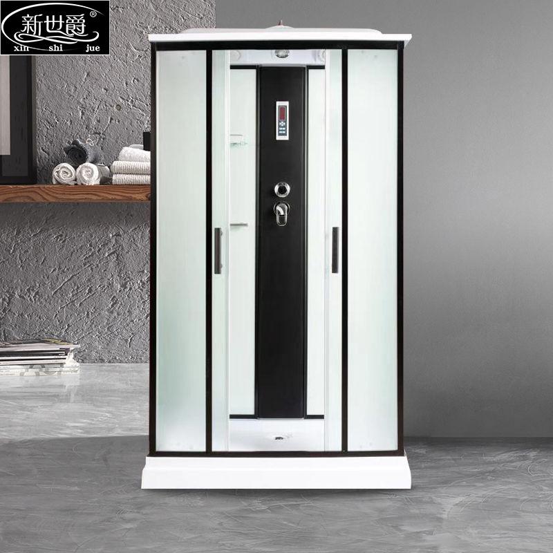New Spyker Rectangular Shower Room Integrated Bathroom Household Integrated Bathroom Glass Enclosed